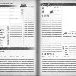 Low Life Redredged Character Sheet - Grey
